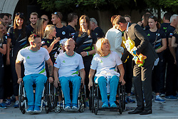 Slovenian paralympic team and Miro Cerar during reception of Slovenian Olympic Team at Vila Podroznik when they came back from Rio de Janeiro after Summer Olympic games 2016, on August 26, 2016 in Ljubljana, Slovenia. Photo by Matic Klansek Velej / Sportida