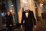 BETHANY BRADSHAW; STEPHEN BRADSHAW ON WAY TO LIBERTY BALL,  Inauguration of Donald Trump and demonstrators and various entrances,  Washington DC. 20  January 2017
