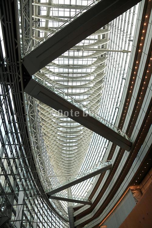 Tokyo International Forum Building in Yurakucho Tokyo Japan