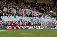 SUPPORTERS GUINGAMP   - 08.03.2015 -  Guingamp / Lille -  28eme journee de Ligue 1 <br />Photo : Vincent Michel / Icon Sport