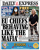 January 30, 2021 (UK): Front-page: Today's Newspapers In United Kingdom