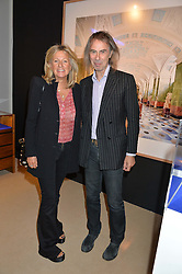PRINCESS CHANTAL OF HANOVER and IVOR BRAKA at the PAD London 2015 VIP evening held in the PAD Pavilion, Berkeley Square, London on 12th October 2015.
