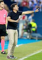 CD Leganes' coach Asier Garitano during La Liga match. August 18,2017. (ALTERPHOTOS/Acero)