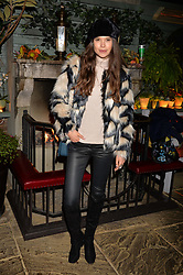 Sarah Ann Macklin at The Ivy Chelsea Garden's Guy Fawkes Party, 197 King's Road, London, England. 05 November 2017.