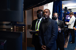Don Cheadle poses backstage during the live ABC Telecast of The 93rd Oscars® at Union Station in Los Angeles, CA, USA on Sunday, April 25, 2021. Photo by Richard Harbaugh/A.M.P.A.S. via ABACAPRESS.COM