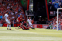Football - 2016 / 2017 Premier League - AFC Bournemouth vs. Manchester United<br /> Manchester United's Juan Mata slots the ball home after a mistake by Bournemouth's defence allows the United player an easy chance at Dean Court (The Vitality Stadium) Bournemouth<br /> <br /> Colorsport/Shaun Boggust