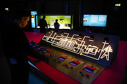 Visitor Centre at Sellafield nuclear power station; Cumbria,