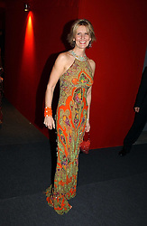 """Fashion designer LINDKA CIERACH  at the 10th annual British Red Cross London Ball.  This years ball theme was Indian based - """"Yaksha - Yakshi: Doorkeepers to the Divine"""" and was held at The Room, Upper Ground, London on 1st December 2004.  Proceeds from the ball will aid vital humanitarian work, including HIV/AIDS projects that the Red Cross supports in the UK and overseas.<br /><br />NON EXCLUSIVE - WORLD RIGHTS"""