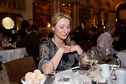Anoushcka Menzies, Criterion Restaurant  celebrates its 135th anniversary. Piccadilly Circus. London. 2 February 2010