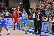 DESCRIZIONE : Campionato 2014/15 Dinamo Banco di Sardegna Sassari - Olimpia EA7 Emporio Armani Milano Playoff Semifinale Gara6<br /> GIOCATORE : Giacomo Devecchi<br /> CATEGORIA : Ritratto Esultanza<br /> SQUADRA : Dinamo Banco di Sardegna Sassari<br /> EVENTO : LegaBasket Serie A Beko 2014/2015 Playoff Semifinale Gara6<br /> GARA : Dinamo Banco di Sardegna Sassari - Olimpia EA7 Emporio Armani Milano Gara6<br /> DATA : 08/06/2015<br /> SPORT : Pallacanestro <br /> AUTORE : Agenzia Ciamillo-Castoria/L.Canu