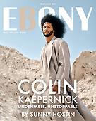 October 13, 2021 - WORLDWIDE: Colin Kaepernick Cover Ebony Magazine November Digital Issue