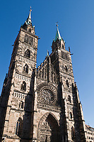 Historic Saint Lorenz church, Nürnberg, Germany
