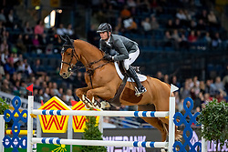Smith Spencer, USA, Theodore Mancias<br /> Stuttgart - German Masters 2018<br /> © Hippo Foto - Stefan Lafrentz