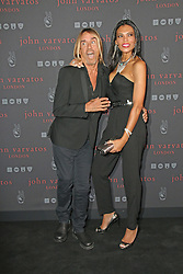 © Licensed to London News Pictures. 03/09/2014, UK. Iggy Pop; Nina Alu, John Varvatos - Flagship European London store launch party, Conduit Street, London UK, 03 September 2014. Photo credit : Richard Goldschmidt/Piqtured/LNP