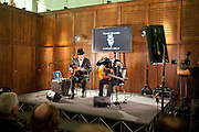 RICHARD STRANGE; GARY KEMP, The launch party of HiBrow and A Mighty Big If. ÊThe Crypt. St. Martins in the Fields. London. 24 January 2012<br /> RICHARD STRANGE; GARY KEMP, The launch party of HiBrow and A Mighty Big If.  The Crypt. St. Martins in the Fields. London. 24 January 2012
