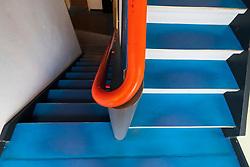 Bauhaus style Haus Feininger, one of the Meisterhauser  in Dessau , Germany.