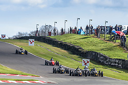 Action from rounds 1 and 2 of the 2017 Formula Vee Championship. This 750 Motor Club event was held at Oulton Park on April 1, 2017. Photo by Jonathan Elsey.