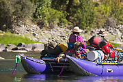 Sunbathing at its finest on the Middle Fork of the Salmon.