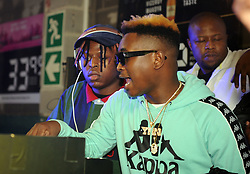 Cape Town-180610 Distruction Boyz perfoming at Chippa's Place Paarl Cape town during the afro on tour  Picture:Ayanda Ndamane/African News Agency/ANA