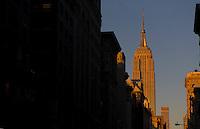 Empire State Building, New york City. Manhattan. <br /> <br /> Photo by Robert Caplin