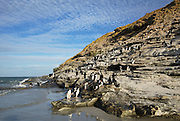 Rockhopper penguins live on islands near Antarctica. Rockhopper penguins nest in steep rocky places Rockhopper penguins Hop from rock to rock. Rockhopper penguins come ashore to mate in colonies