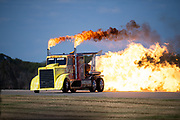 Thunder over Georgia Airshow. Shockwave Jet Truck