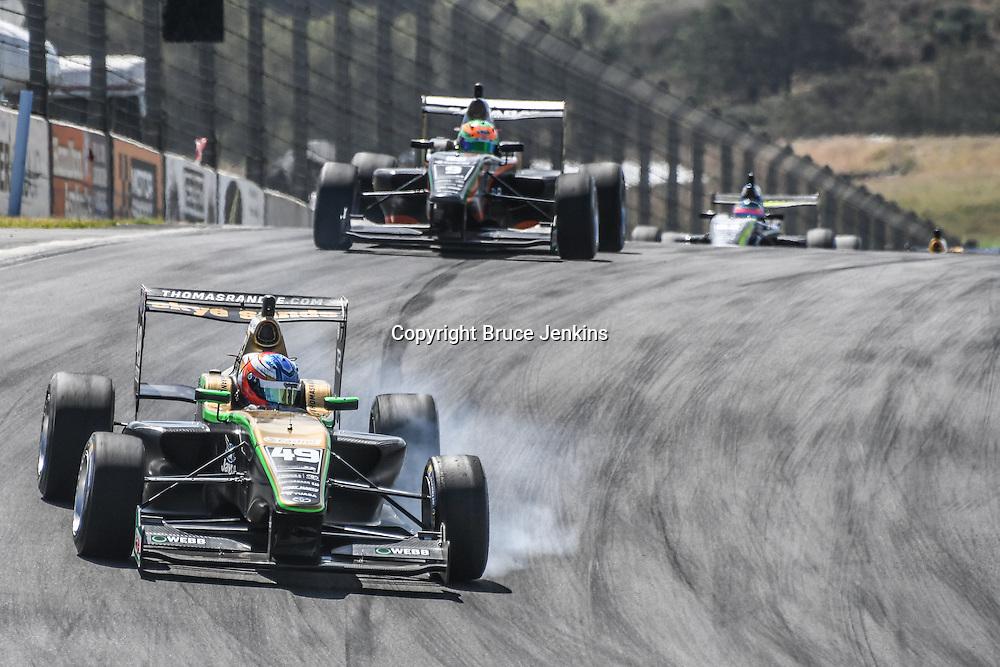 Thomas Randle wins Race 3, Round 3 of the 2017 Castrol Toyota Racing Series at Teretonga Park Raceway, Invercargill, New Zealand