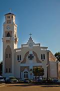 Iglesia Catolica Nuestra Senora del Rosario Church in the town of Yauco Puerto Rico