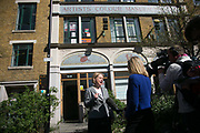 Leader of the Green Party Natalie Bennett at the press lauch of the party's elections mainfesto in East London, UK.
