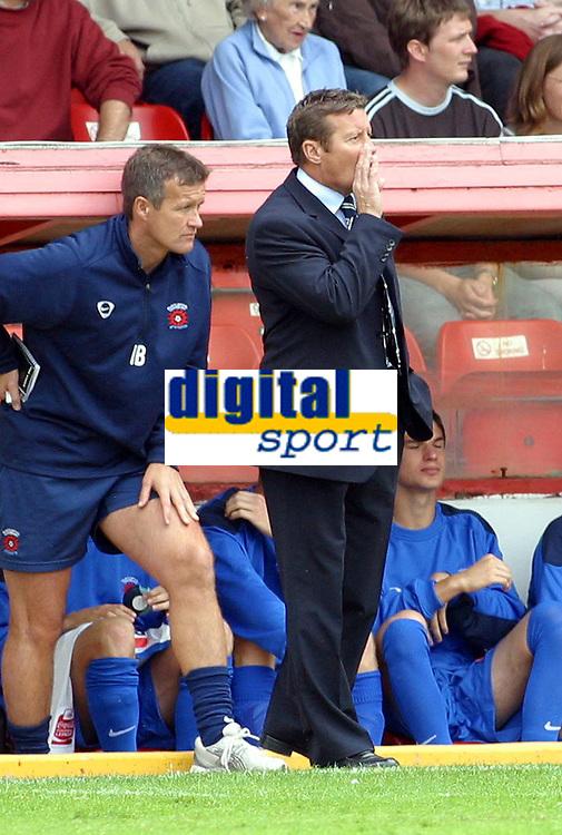 Photo: Dave Linney.<br />Walsall v Hartlepool United. Coca Cola League 2. 12/08/2006Hartlepool Mgr .Danny Williams