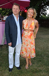 NICK JONES and KIRSTY YOUNG at the Serpentine Gallery Summer party sponsored by Yves Saint Laurent held at the Serpentine Gallery, Kensington Gardens, London W2 on 11th July 2006.<br /><br />NON EXCLUSIVE - WORLD RIGHTS