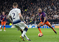 Football - 2018 / 2019 UEFA Champions League - Quarter Final , First Leg: Tottenham Hotspur vs. Manchester City<br /> <br /> Fabian Delph (Manchester City) prepares to shoot at White Hart Lane Stadium.<br /> <br /> COLORSPORT/DANIEL BEARHAM
