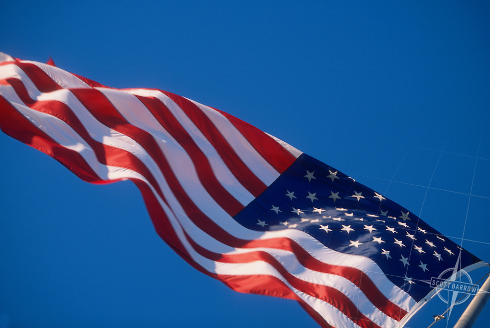 The American Flag, 2001