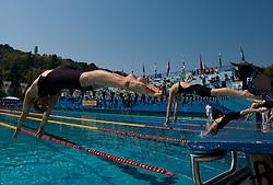 Tjasa Vozel of Ilirija at 36th International swimming meeting City of Ljubljana Cup, on May 22, 2011 in Kodeljevo pool, Ljubljana, Slovenia. (Photo By Vid Ponikvar / Sportida.com)