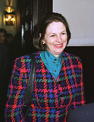 BARONESS BLACKSTONE at a reception in London on 3rd March 1999.MOZ 42