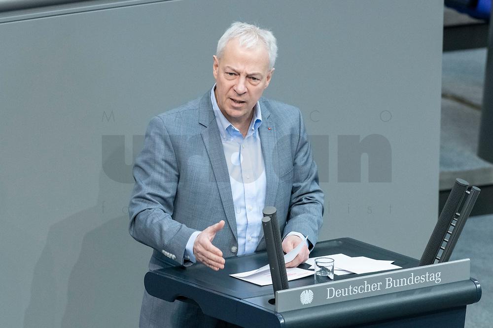 13 FEB 2020, BERLIN/GERMANY:<br /> Markus Toens, MdB, SPD, Sitzung des Deutsche Bundestages, Plenum, Reichstagsgebaeude<br /> IMAGE: 20200213-01-030<br /> KEYWORDS: Markus Töns