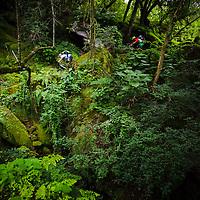 Hans Rey & Tibor Simai, on day 3 of a three-day traverse, Tilcara to Calilegua, Argentina.