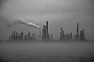 PBF Energy Chalmette Refinery as seen from the Chalmette-Algiers Ferry headed to Chalmette.