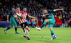 Tottenham Hotspur's Eric Dier (right) in action