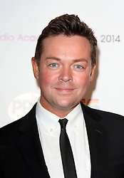 STEPHEN MULHEARN arrives for the Radio Academy Awards, London, United Kingdom. Monday, 12th May 2014. Picture by i-Images