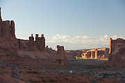 The Three Gossips, Arches National Park, Utah, United States of America