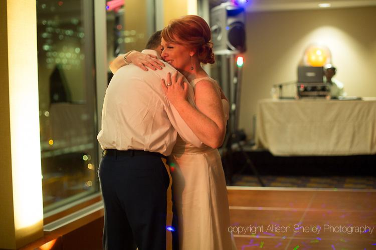 wedding of Karen Bambrick and Ron McGraw, Key Bridge Marriott, Arlington, VA, October 7, 2012.