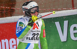 08.01.2019, Hermann Maier Weltcupstrecke, Flachau, AUT, FIS Weltcup Ski Alpin, Slalom, Damen, 2. Lauf, im Bild Marusa Ferk (SLO) // Marusa Ferk of Slovenia reacts after her 2nd run of ladie's Slalom of FIS ski alpine world cup at the Hermann Maier Weltcupstrecke in Flachau, Austria on 2019/01/08. EXPA Pictures © 2019, PhotoCredit: EXPA/ Erich Spiess