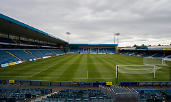 General view inside the Priestfield Stadium   - Mandatory by-line: Alex James/JMP - 14/04/2017 - FOOTBALL - MEMS Priestfield Stadium - Gillingham, England - Gillingham v Bristol Rovers - Sky Bet League One