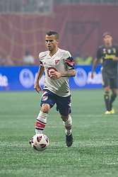 August 1, 2018 - Atlanta, Georgia, United States - MLS All-Star forward SEBASTIAN GIOVINCO, 12, (Toronto FC) during the 2018 MLS All-Star Game at Mercedes-Benz Stadium in Atlanta, Georgia.   Juventus F.C. defeats  MLS All-Stars defeat  1 to 1  (Credit Image: © Mark Smith via ZUMA Wire)