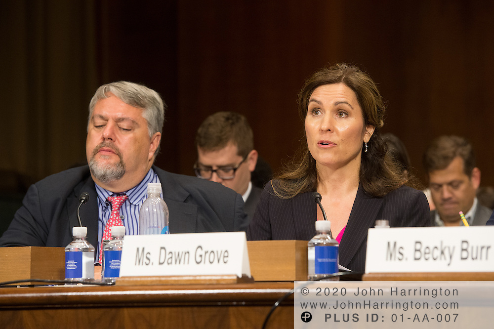 "Ms. Dawn Grove, Corporate Counsel<br /> Karsten Manufacturing testifies Wednesday September 14, 2016, before the Subcommittee on Oversight, Agency Action, Federal Rights and Federal Courts, testimony was also heard from The Honorable Lawrence E. Strickling, Assistant Secretary for Communications and Information and Administrator<br /> National Telecommunications and Information Administration (NTIA), United States Department of Commerce;  Mr. Göran Marby, CEO and President, Internet Corporation for Assigned Names and Numbers (ICANN); Mr. Berin Szoka, President, TechFreedom; Mr. Jonathan Zuck, President, ACT The App Association;  Ms. Dawn Grove, Corporate Counsel<br /> Karsten Manufacturing; Ms. J. Beckwith (""Becky"") Burr, Deputy General Counsel and Chief Privacy Officer, Neustar;  Mr. John Horton, President and CEO, LegitScript;  Mr. Steve DelBianco, Executive Director, NetChoice; Mr. Paul Rosenzweig, Former Deputy Assistant Secretary for Policy, U.S. Department of Homeland Security."
