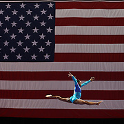Simone Biles, Spring, Texas, in action on the Balance Beam during the Senior Women Competition at The 2013 P&G Gymnastics Championships, USA Gymnastics' National Championships at the XL, Centre, Hartford, Connecticut, USA. 15th August 2013. Photo Tim Clayton