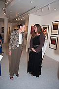 ANGELA WYNN; REBECCA EAMES , 20/21 British Art Fair. Celebrating its 25 Anniversary. The Royal College of Art . Kensington Gore. London. 12 September 2012.