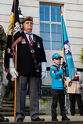 Remembrance Sunday Barnsley Standard Bearers<br /> <br />  Copyright Paul David Drabble<br />  10 November 2019<br />  www.pauldaviddrabble.co.uk