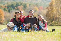 Tucker family portrait session.  © 2013 Karen Bobotas Photographer